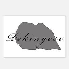 Pekingese Postcards (Package of 8)