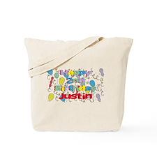 Justin's 2nd Birthday Tote Bag