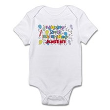 Justin's 2nd Birthday Infant Bodysuit