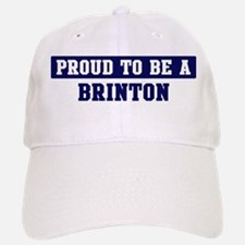 Proud to be Brinton Baseball Baseball Cap