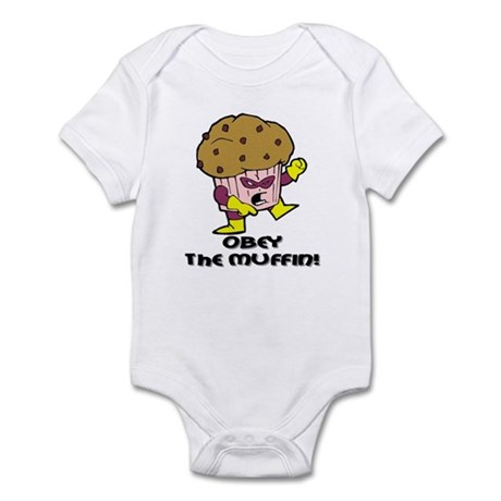 Obey The Muffin Infant Creeper