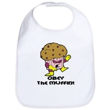Obey The Muffin Bib