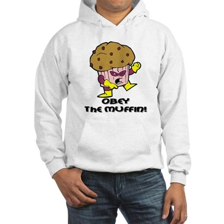 Obey The Muffin Hooded Sweatshirt