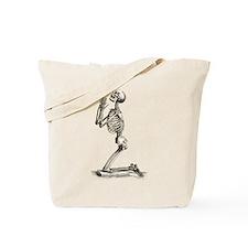 Praying Skeleton Tote Bag