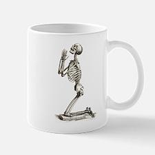 Praying Skeleton Mug
