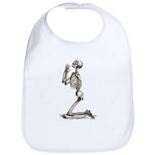 Praying Skeleton Bib