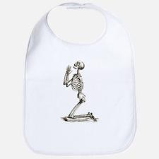Praying Skeleton Bib