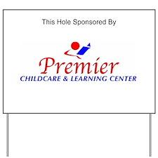 Premier Childcare Sponsorship Sign