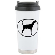 Plott Hound SILHOUETTE Travel Mug