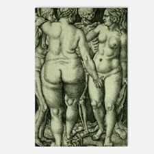 Death and Three Nude Women Postcards (Package of 8