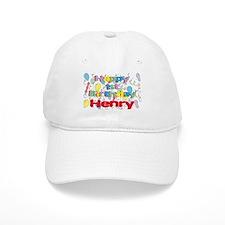 Henry's 1st Birthday Baseball Cap