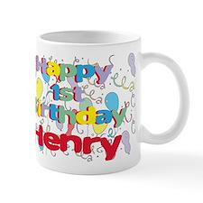 Henry's 1st Birthday Mug