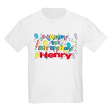 Henry's 1st Birthday T-Shirt