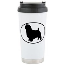 Norfolk Terrier SILHOUETTE Travel Mug