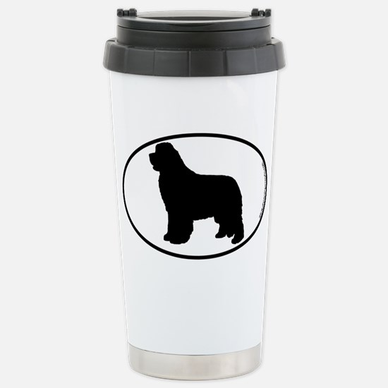 Newfoundland SILHOUETTE Stainless Steel Travel Mug