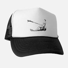 1860 Pelvic Douche Illustration Trucker Hat
