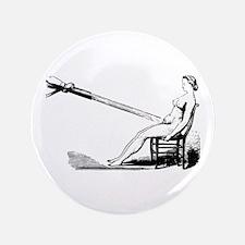 "1860 Pelvic Douche Illustration 3.5"" Button"
