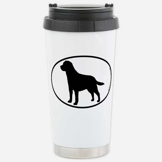 Labrador SILHOUETTE Stainless Steel Travel Mug