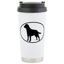 Labrador SILHOUETTE Travel Coffee Mug