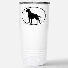 Labrador SILHOUETTE Travel Mug