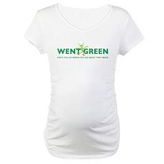 Went Green Alien Shirt
