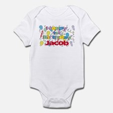 Jacob's 1st Birthday Infant Bodysuit