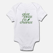Give Peas a Chance (new) Infant Bodysuit