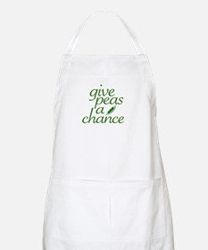Give Peas a Chance (new) BBQ Apron