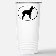 Irish Wolfhound SILHOUETTE Thermos Mug