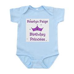 1st Birthday Princess - Purple - Custom