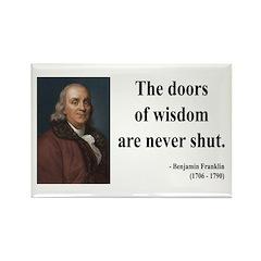 Benjamin Franklin 20 Rectangle Magnet (100 pack)