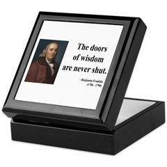 Benjamin Franklin 20 Keepsake Box