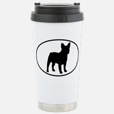 French Bulldog SILHOUETTE Travel Mug