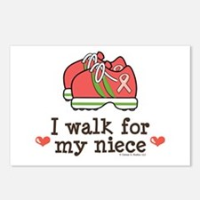 Breast Cancer Walk Niece Postcards (Package of 8)