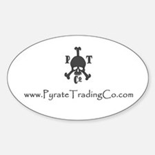 Pyrate Trading Co Oval Decal