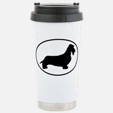Wirehaired Dachshund SILHOUETTE Travel Mug