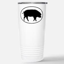 Pig SILHOUETTE Travel Mug