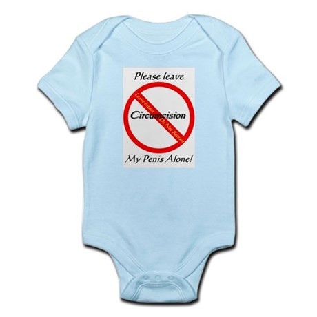 No Circumcision! Infant Bodysuit