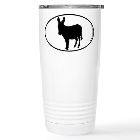 Donkey SILHOUETTE Stainless Steel Travel Mug