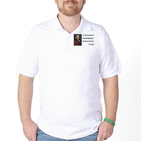Benjamin Franklin 21 Golf Shirt