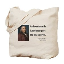 Benjamin Franklin 21 Tote Bag