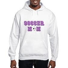 Soccer Mom (purple attack) Hoodie