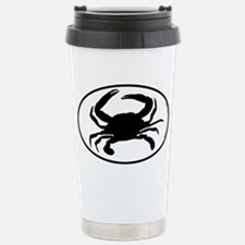 Crab SILHOUETTE Stainless Steel Travel Mug