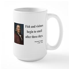 Benjamin Franklin 22 Large Mug