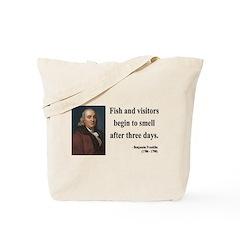 Benjamin Franklin 22 Tote Bag