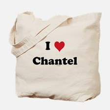 I love Chantel Tote Bag
