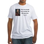 Benjamin Franklin 23 Fitted T-Shirt