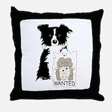 Sheep Wanted Throw Pillow