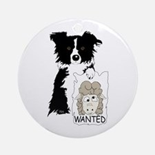 Sheep Wanted Ornament (Round)