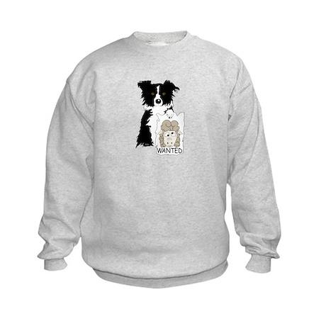 Sheep Wanted Kids Sweatshirt